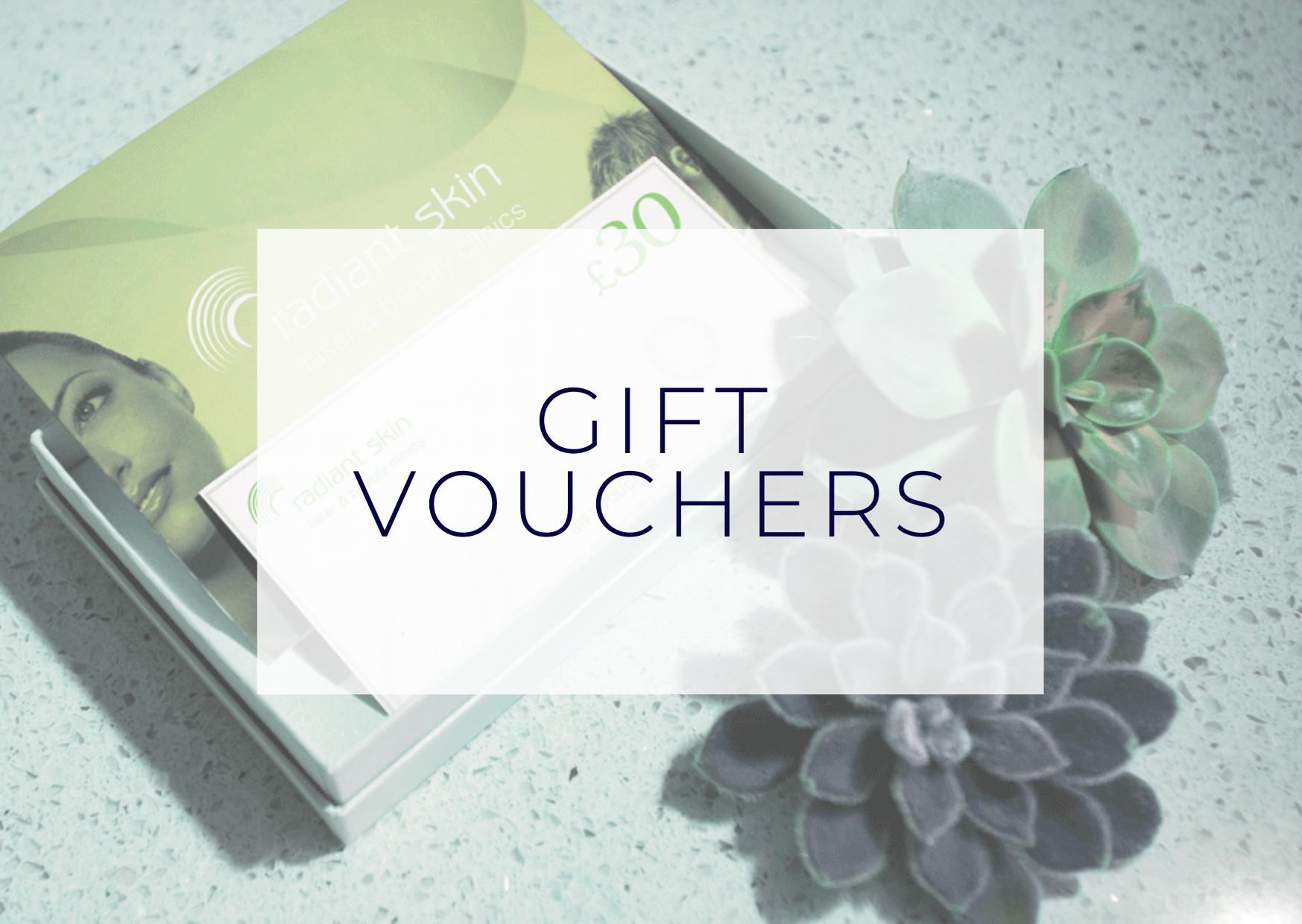 Gift Vouchers at Radiant Skin Liverpool
